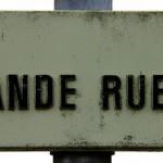 oxymore odonymique - Le titre se justifie, Aix-Noulette, Pas-de-Calais, France. Crédit : Olivier Bacquet.