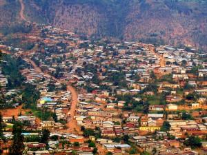 View of Kigali, Rwanda. Crédit : oledoe