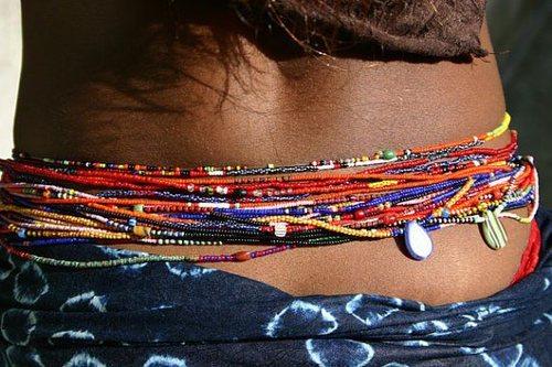 collier perle ventre