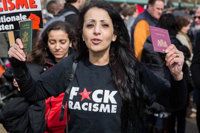 Moroccans fight back! (https://www.flickr.com/photos/proimos/13406590485/in/photolist-mqGhgP-4MfqvT-4MeWLi-nfpEGt-5t4rKV-5sYEuQ-4a17f4-7Z9J8P-8PhPBE-5uYCs-4VuUYa-4Mw5sq-7AgAQz-8U7QQz-arXMho-6FShAU-----------4TQRjV-7W4QdV-5t4kPZ-9Dnbiu-fkXLVV-eArPy-4Mj7BL-4UiSk9-6CcxH-4Mpbts-9GDpuY-9GDqqJ-9GDrpC-hDmRbt-9GDqWA-9GAwNc-6CcxE-dwXH1i-dwXGS4-9QvCLf-8Pd87e-4HYvtw-57QZmr-7Z9LY4/ )