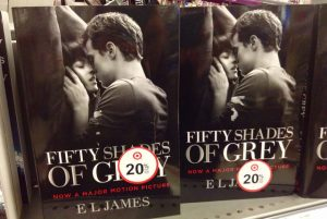 50 Shades of Grey en librairie. Crédit Photo : Mike Mozart