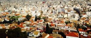 Athens. View from The Parthenon. (Crédit Photo : Dieretou)