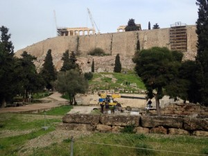 Le Parthenon .  (Crédit Photo : Dieretou)