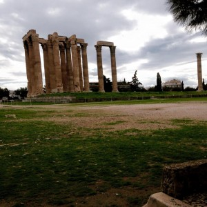 Temple du Dieu Olympien Zeus.  (Crédit Photo : Dieretou)