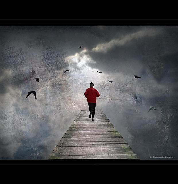 Confidence. Crédit : Hartwig HKD flickr.com CC